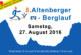 Voranmeldung zum 8. Altenberger Berglauf