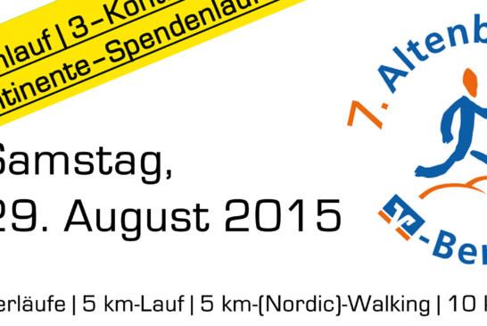 7. Altenberger Berglauf am 29. August 2015