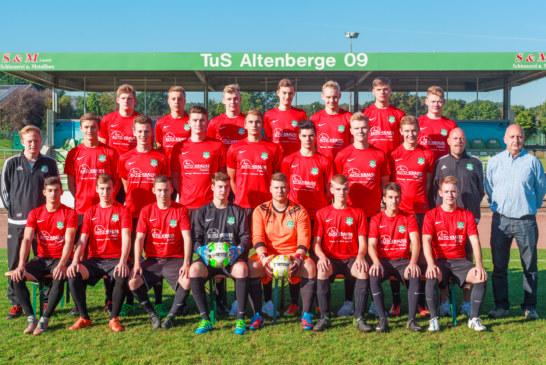 Die A1 steht im Finale des Kreispokals am Samstag 14 Uhr in Altenberge!