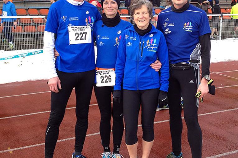 Läufer des TuS Altenberge bei der Hammer Laufserie