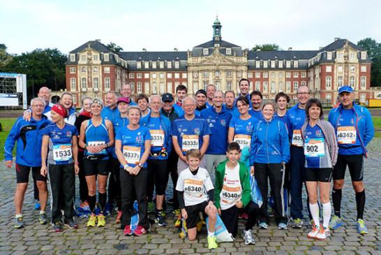 Münstermarathon 2015 – Beate Hermann auf dem 3. Altersklassenplatz
