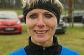 Petra Gehltomholt beim Nikolauslauf in Steinfurt auf Platz 1 der AK-W50