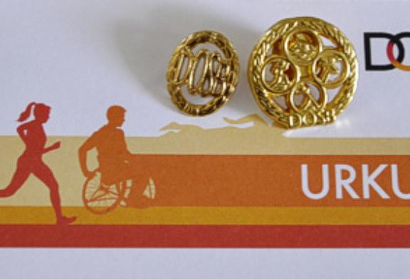 Verleihung der Sportabzeichen 2016