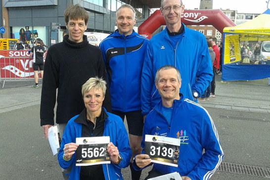 Laufabteilung in Enschede und Münster am Start