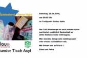 Spieleabend / Game Night – Runder Tisch Asyl