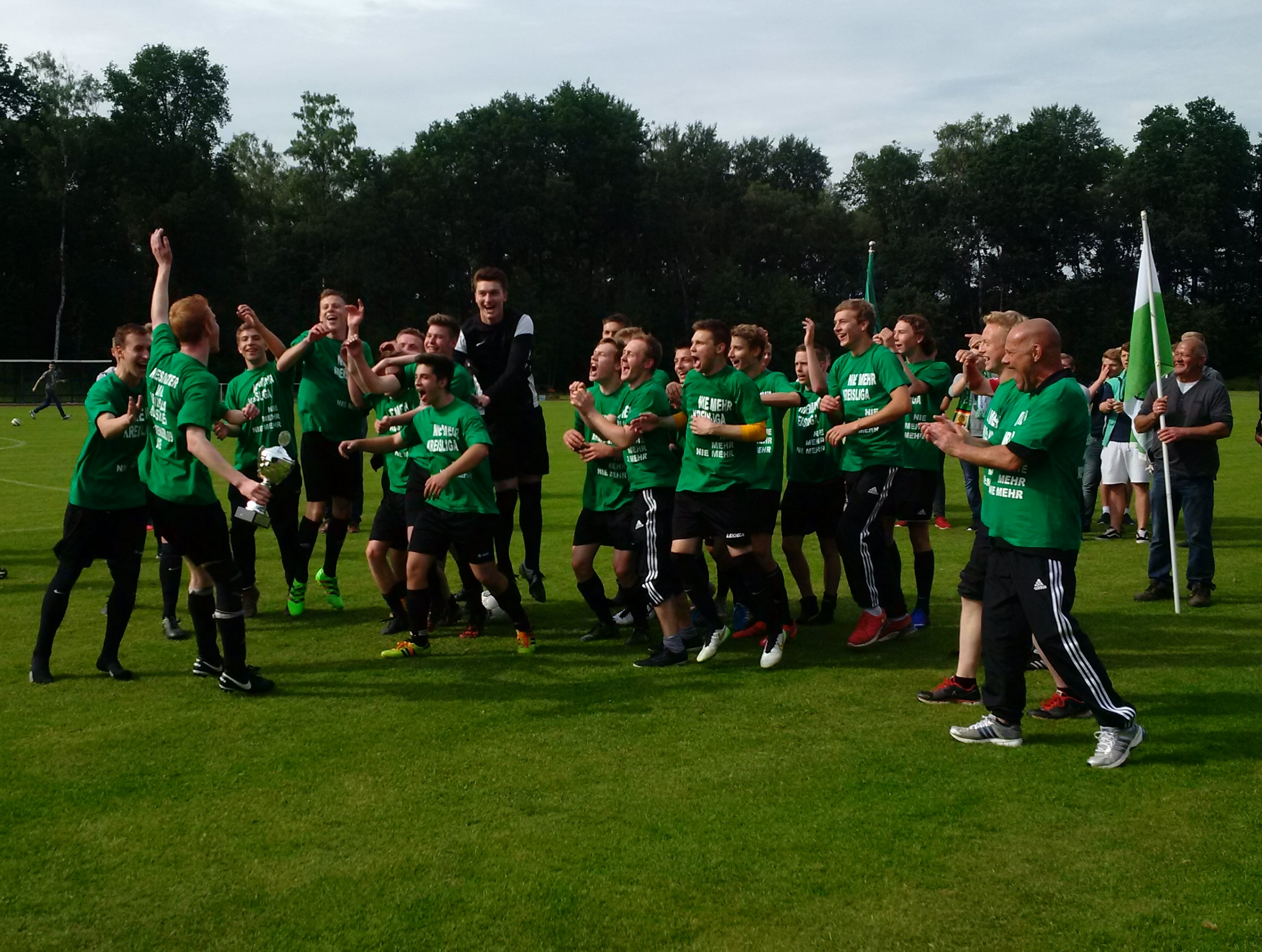 4:0 gegen SC Greven 09 - A1 hat den Aufstieg klar gemacht