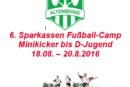 6. Sparkassen Fußball-Camp 2016