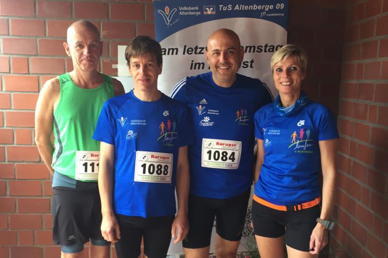 Dietmar, Mathias, Erkan und Petra