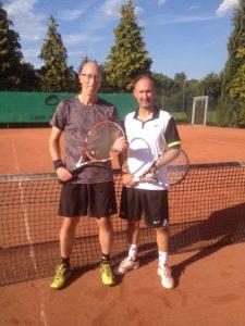 Sieger Doppelmeisterschaften Oliver Brinker und Damian Böcker