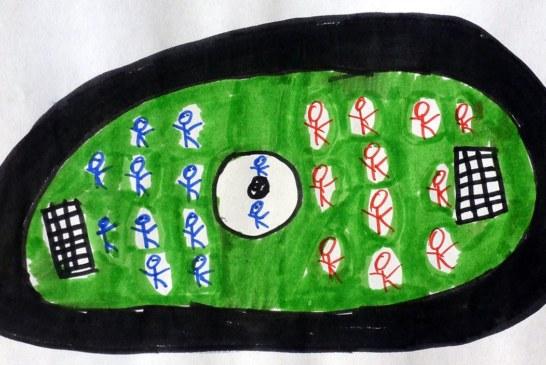 Auch in diesem Schuljahr gibt es wieder Fußball für Vorschulkinder