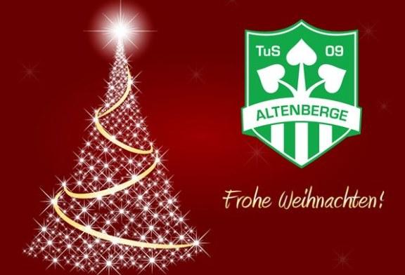 TuS Altenberge 09 wünscht Frohe Weihnachten!