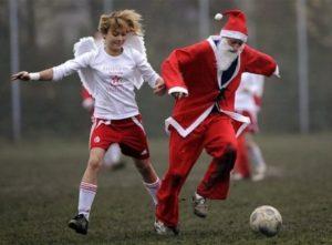weihnachtsfussball