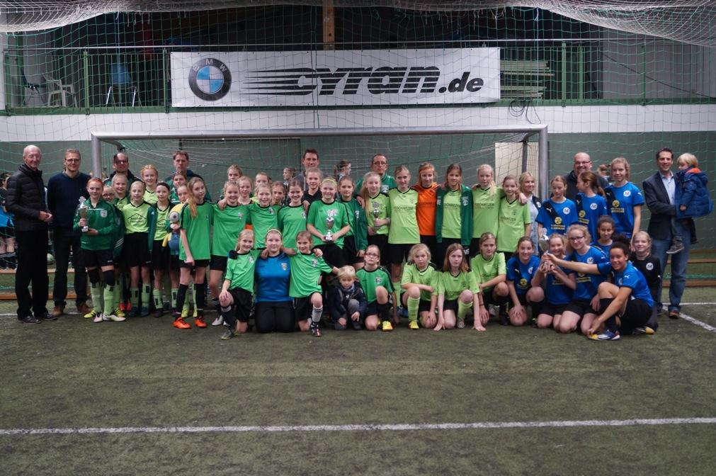 3. Cyran-Cup 2017: Soccerhalle für zwei Tage wieder ganz im Zeichen des Mädchenfußballs