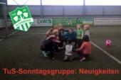 Sonntagsgruppe: An alle Mädchen und Jungen ab 4 Jahre, die Lust auf Fußball haben.