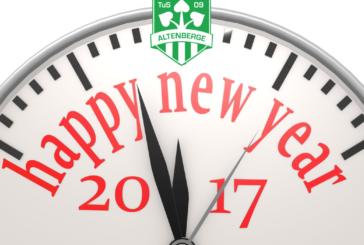 Neujahr 2017 – Jahresrückblick