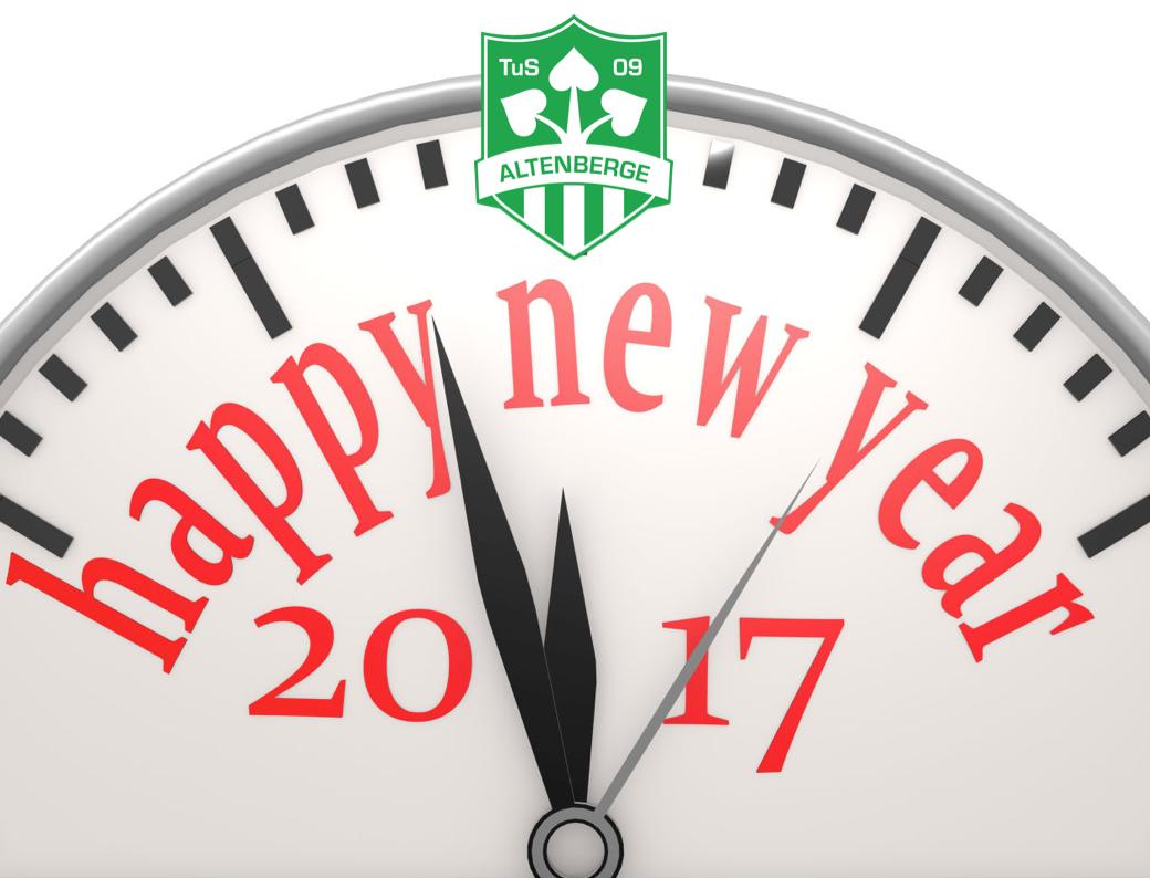 Neujahr 2017 - Jahresrückblick