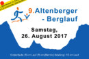 9. Altenberger Berglauf am 26. August 2017