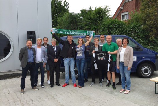 Autohaus Brömmler neuer Hauptsponsor der 1. Mannschaft