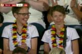 Die Laufabteilung ist auch bei der Fußball-EM der Frauen dabei !
