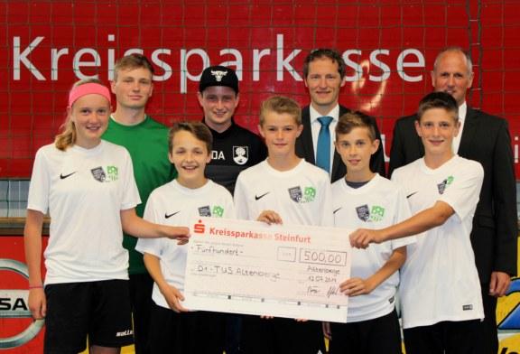 Hughes Insurance Foyle Cup – Sparkasse Altenberge unterstützt die D1
