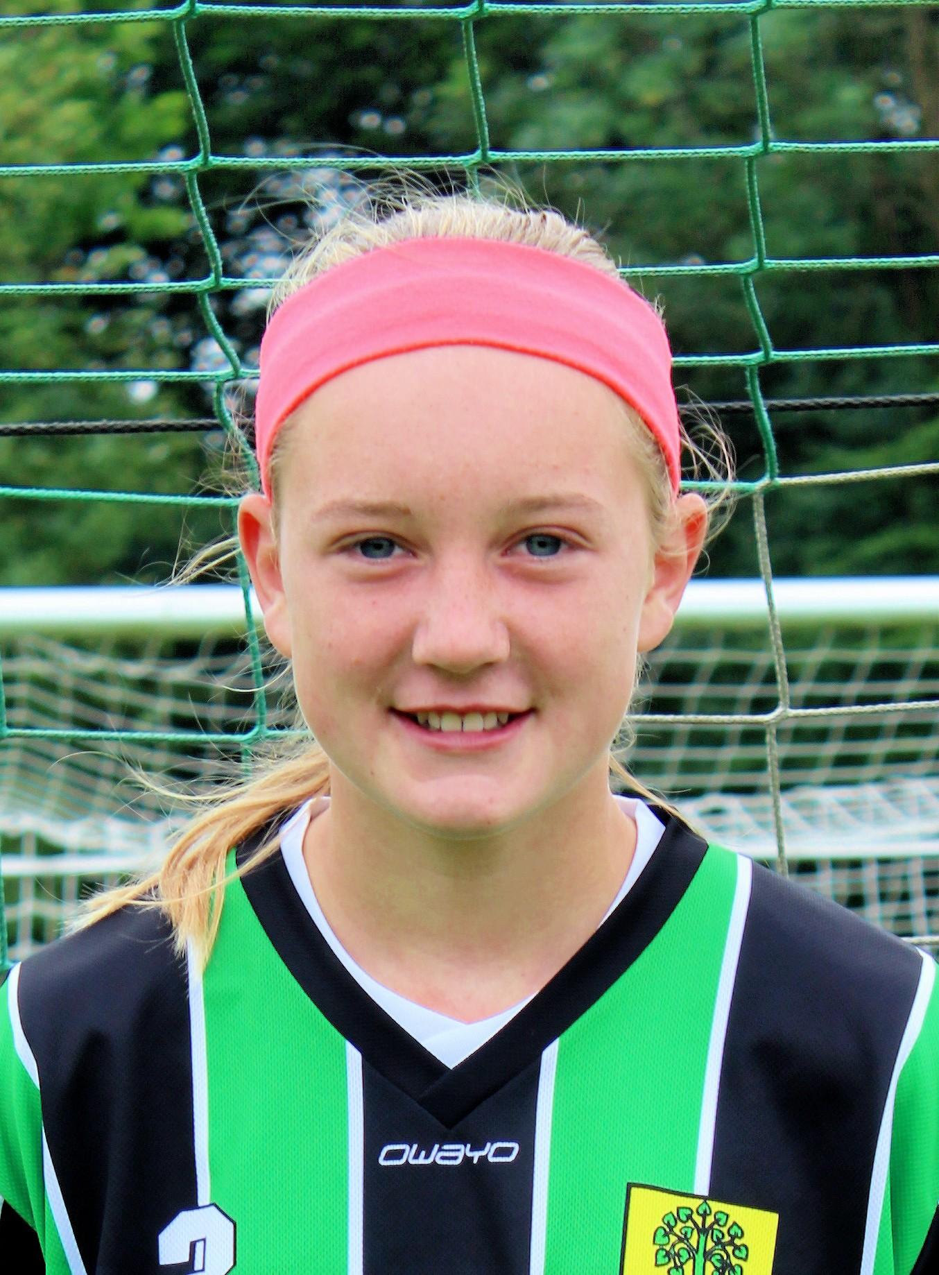 Kim Lorenz wurde mit der U-14-Auswahl Westfalenmeister