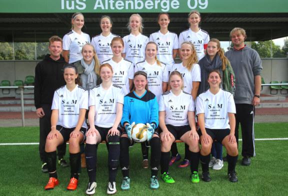 TuS Damen 2: Lehrstunde gegen FC Nordkirchen 1