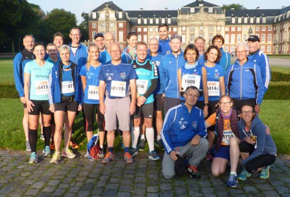 Münstermarathon – 42,195 Km – vom Schlossplatz bis zum  Prinzipalmarkt
