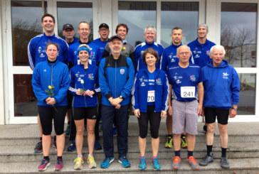Laufabteilung beim 34. Allerheiligenlauf in Nordwalde