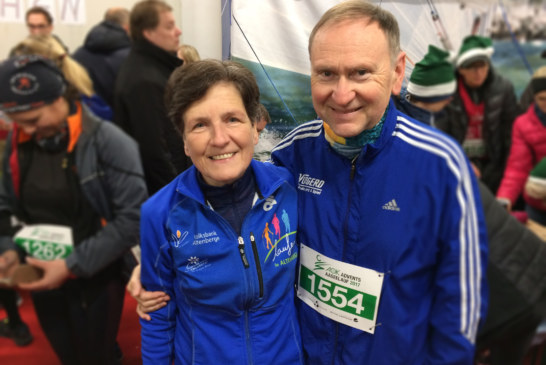 3. Altersklassenplätze im Duo beim Advents-Aaseelauf