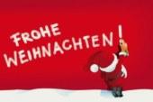 TuS-Fußballmädchenabteilung wünscht frohe Weihnachten und alles Gute für das Jahr 2018!