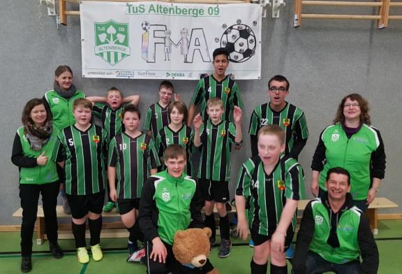 IFMA des TUS Altenberge bestreitet erfolgreich ihr erstes Hallenturnier des FLVW in Münster-Wolbeck