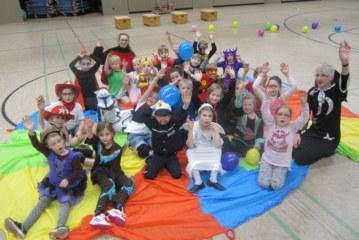 Karneval beim Kinderturnen