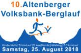 Streckenverlauf – 10. Altenberger Volksbank-Berglauf