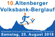 Anmeldung zum 10. Altenberger Volksbank-Berglauf