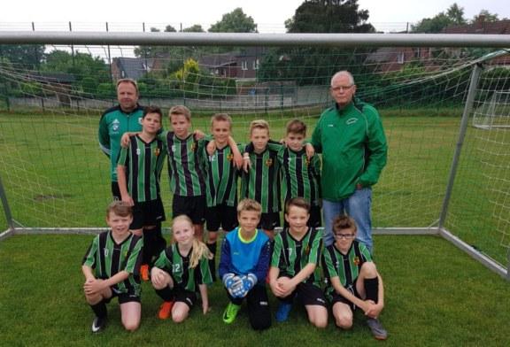 U11-1 gewinnt Pokalturnier in Hohenholte