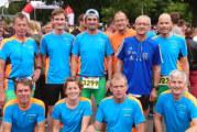 Karl Reinke beim Hasetal-Marathon in Löningen
