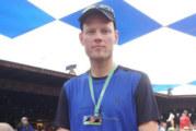 Stefan Spanel läuft  beim Zugspitz-Ultratrail hoch hinaus