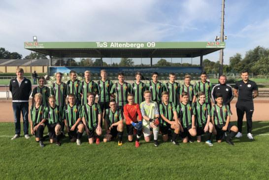 U17.2 startet mit Sieg gegen Wacker Mecklenbeck U17.2