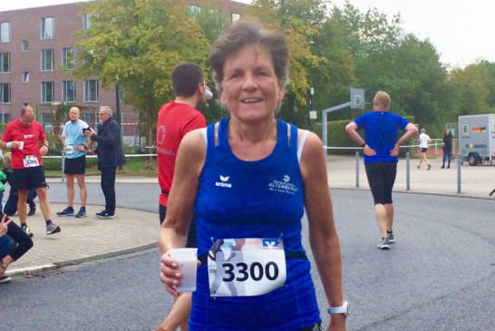 2. AK-Platz für Barbara Laubrock über 10 Km in Telgte