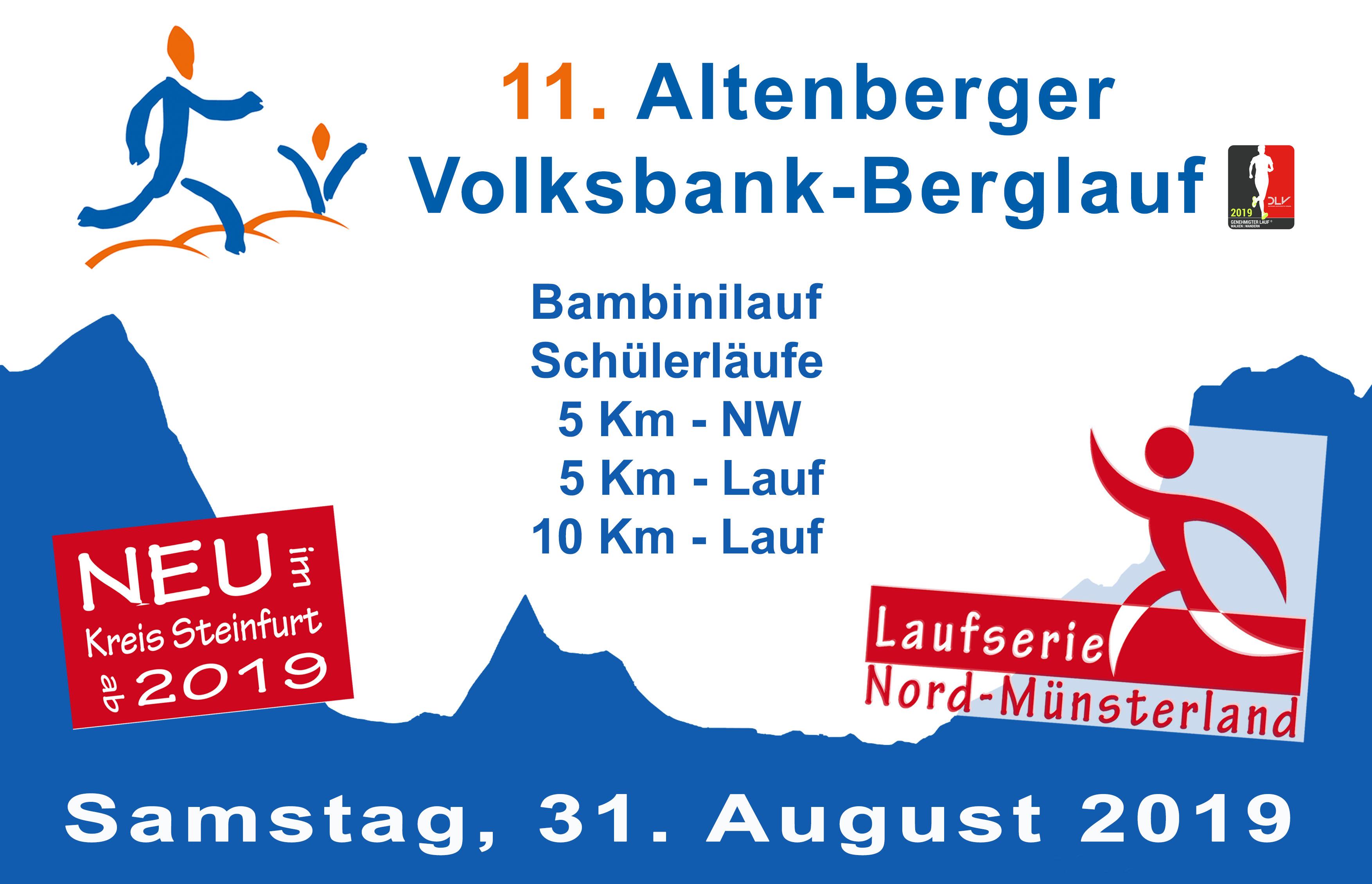 Ergebnisse 11. Berglauf