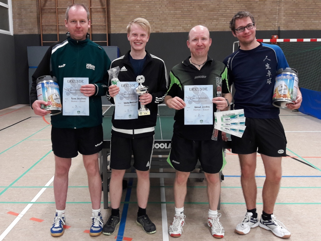 Sebastian Wewel-Eshoff ist neuer Vereinsmeister der TT-Abteilung