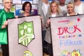 Auszeichnung für DRK-Kita Fifikus und TuS Altenberge 09