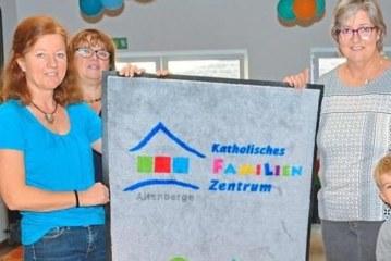 Ehrung des Nikolaus-Kindergartens für 10 Jahre Bewegungskindergarten