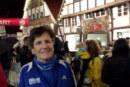 Barbara Laubrock beim Christkindllauf in Wiedenbrück – ein 10 km-Lauf mit besonderem Ambiente