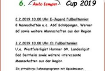 Auto – Lemper Cup der U11 und U15!