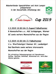 Auto - Lemper Cup der U11 und U15!