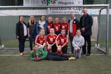 Aus Cyran-Cup wird Sorglos-Cup 2019 :  Am Wochenende war wieder großes Mädchenhallenfußballturnier beim TuS Altenberge 09