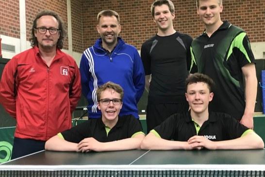 TT: Erfolgreiche Teilnahme an den offenen Münsteraner Stadtmeisterschaften