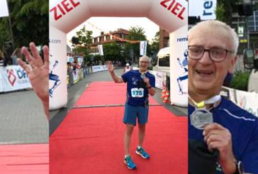 Karl Reinke läuft in Löningen seinen 50 Marathon