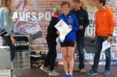 Barbara Laubrock mit 1. AK-Platz beim ZFS-Citylauf in Münster